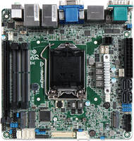 New Mini-ITX Embedded Motherboard Features MOSFET Heatsink