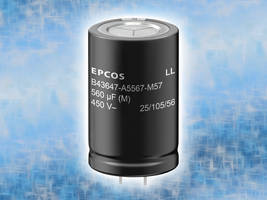 New Aluminum Electrolytic Capacitors with Snap-in Terminals