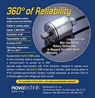 Novotechnik Releases New Angle Sensors