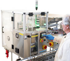Latest PS1 Packserter Packaging Machinery Features HMI with Touchscreen Control Panel