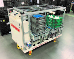 New Creform AGV System with Load Capacity of 1455 lb.