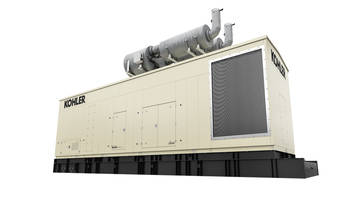 KOHLER KD Series Generators Meet Stringent Tier 4 Final Emission Standards for Non-Emergency Applications