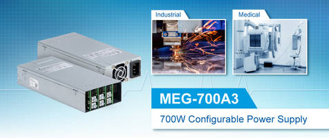 New MEG-700A Series 3 Features Intelligent Fan Speed Control