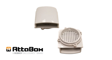 New Breather Vent Kit with Optional 60 mm Axial Fan Mounting Holes