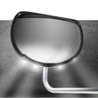New Eye-Max LED Down Lit Crossview Mirror Improves Visibility for Drivers at Night