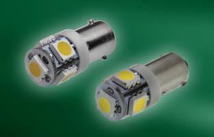 New LED Miniature Bulb Series Feature 9 mm Single-contact Bayonet Base