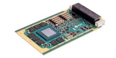New 3U VPX Graphics Output Card Features x16 PCIe Gen 3 Expansion Plane