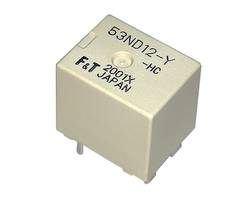 New 12 VDC PCB Relay with Maximum Carrying Current of 62.5 A