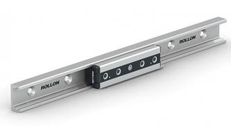 New Linear Guide Comes with Self-Aligning Capabilities