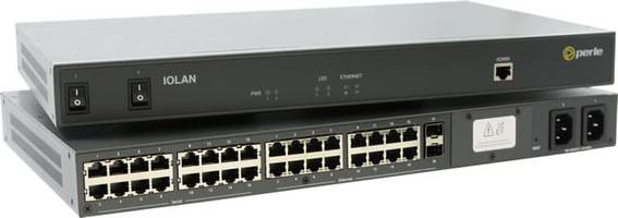 New Console Server Supports RS232 and Ethernet Console Management Ports