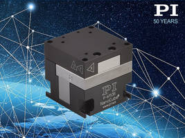PI's P-611 Piezo Nanopositioning Stage for Photonics Alignment and Beam Pen Lithography