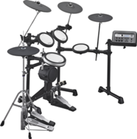 New Electronic Drum Lineup for Quiet Practice, Recording and Education