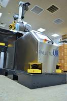 New Palletizing Robot with Two Pallet Reach for Minimal Down Time
