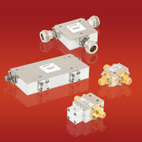 New RF Circulators/Isolators Includes Maximum Power Rating up to 100 W