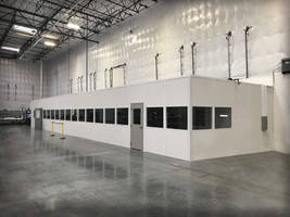 New Modular Office Systems Offer Pre-Cut Panels