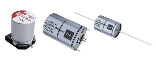 New Aluminum Polymer Capacitors Include Polymer Technology and Liquid Electrolytic Material