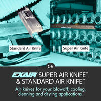 Wide Selection of Air Knives Available to Meet all Your Needs