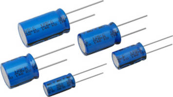 Latest Aluminum Capacitors Offer High Ripple Currents up to 3.36 A