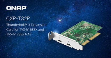 New Thunderbolt 3 Expansion Card Provides Increased Bandwidth and Connectivity