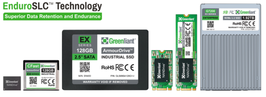 Greenliant Ultra High Endurance SSD Design Wins Enable High Reliability Systems