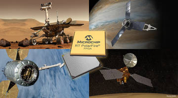 Microchip's Low-Power Radiation-Tolerant (RT) PolarFire® FPGA is Available in Engineering Silicon and on a Path to Full QML Class V Spaceflight Qualification