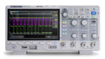 New 4-channel 100 MHz Oscilloscope with Large 7 in. TFT-LCD Display