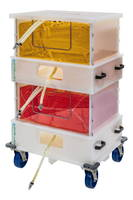 New Knockdown Mobile Totes Available in 100 to 500 L Sizes