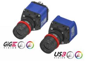New GigE and USB3 Industrial Cameras Available in Focal Lengths from 5 to 50 mm