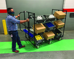Latest Picking Cart is Ideal for Component Manufacturers and Distributors