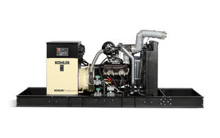 KOHLER Gaseous-Powered Industrial Generators Recognized as a 'Product of the Year' by Leading Trade Publication