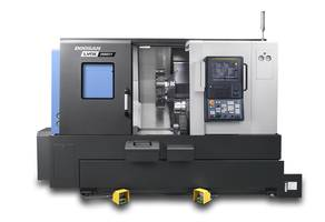 New Turning Center Incorporates Roller Type LM Guides for all Axes