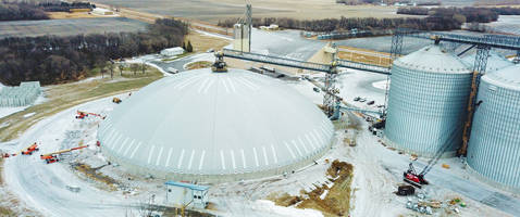 New Storage Dome Features Retrofittable Construction