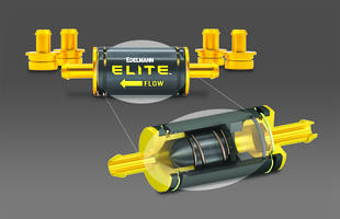 New Elite Power Steering Filter with 3/8, 1/2 and 5/8 in. Connectors