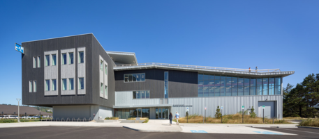 Oregon State University's New Marine Science Building Combines Modern Design with Time-Tested RHEINZINK Roofing and Cladding
