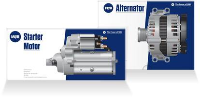 New Starters and Alternators Include Quality Electronics and WBD Grade Bearings