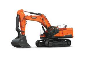 New DX800LC-7 Excavator with 8-inch Touch Screen LCD Monitor