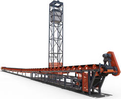 Latest Overland Conveyor is Equipped with Gravity Take-Up Tower