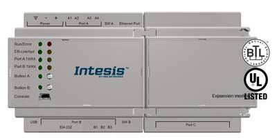 Latest Intesis Gateway is BTL-Certified and UL Listed