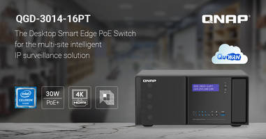 New Desktop Smart Edge PoE Switch with Sixteen 30 W Gigabit PoE Ports