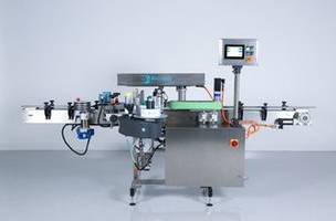 New Labeling Machine Combined with Accraply 2xx Series Label Applicator