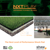 Shaw Sports Turf's NXTPlay Performance Pad Becomes the First Shaw Turf Product to Be Cradle to Cradle Certified
