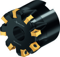 Latest Face Milling Cutter has 88 degree Approach Angle