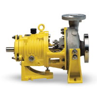 New System One Centrifugal Pumps Exceed The 400F (204C) Standard Temperature Limit