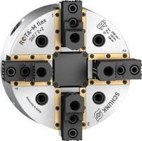 New SCHUNK ROTA-M Flex 2+2 Chuck Amounts to 5.1 mm up to 10 mm per Jaw