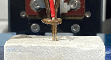 UltraFlex Soldering Cables to Copper Pins within 2 Seconds