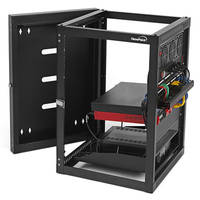 New Open Frame Wall-Mount Racks are DIN 41494 and RoHS Compliant
