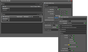 Latest authoring and Media Processing Software Supports IMSC 1.1