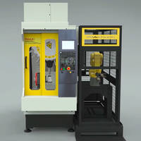 New Cell PRO Automation Machinery Comes with FANUC 31i-B5 Nano CNC Controller