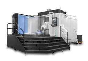New Five-Axis Machining Center is Equipped with Siemens 840D Control
