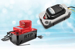 New Aspen Pumps M4R and RTP Series with Water Level Float Mechanisms